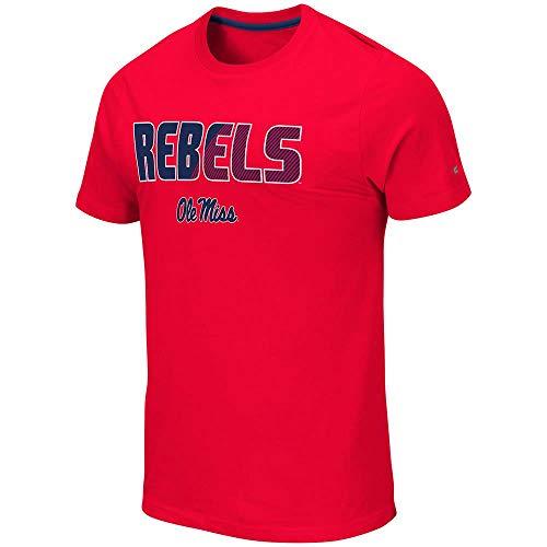 Colosseum Mens Ole Miss Rebels Yona Short Sleeve Tee Shirt - -