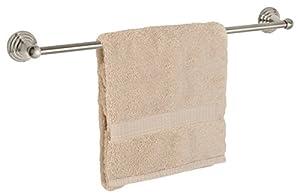 "30%OFF Dynasty Hardware 7524-SN Bel-Air 24"" Single Towel Bar Satin Nickel"