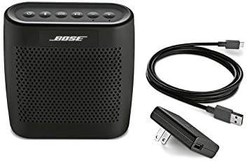 Bose SoundLink Color Black Bundle Bluetooth Mobile Speaker with Travel Case
