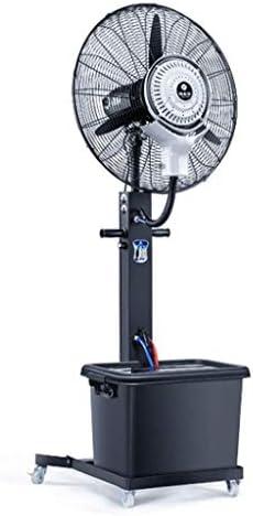 強力ファン 工場建物工業用扇風機スプレーフロアファン振動ファン霧化屋外用冷却家庭用業務用ファンブラック台座(サイズ:75cm(300W)) スプレーファン