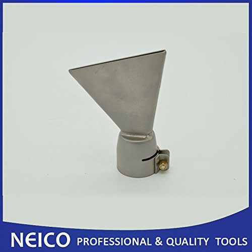 80mm Wide Slot Weld Nozzle, Push- Fit LESITE /BAK / HERZ Hot Air Tools For Roofing Membrane Welding NEICO