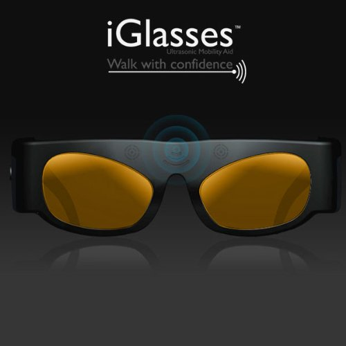 iGlasses Ultrasonic Mobility Aid- Tinted Lens by Ambutech