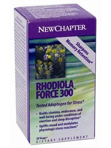 Rhodiola Force, 300 mg, 30 Caps by New Chapter (Pack of 3) -