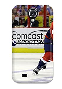 For Galaxy S4 Premium Tpu Case Cover Washington Capitals Hockey Nhl (32) Protective Case