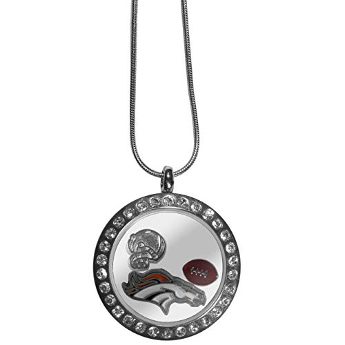 (Siskiyou NFL Denver Broncos Locket Necklace, 18