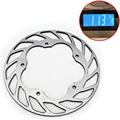 Fitment:  BMW S1000RR 2009-2016 Weight 1.1lb ,Light Weight Track Racing Brake Rotor Made from Stainless Steel 420 2Cr13  Outer Diameter :220mm  Thickness:5mm, Bolt Hole Diameter 6.5mm  Bolt Pitch:136mm