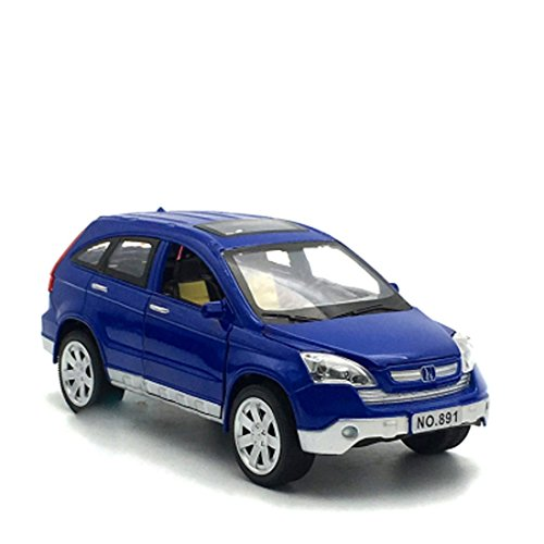 KMT Alloy Diecast Car Models HONDA CRV Model Cars (Blue) by KMT