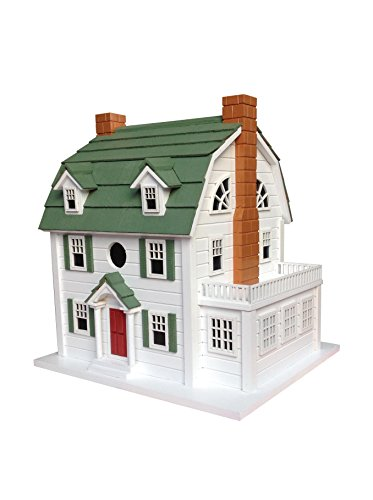 Price comparison product image Home Bazaar Dutch Colonial Birdhouse with Aka Amityville Horror House