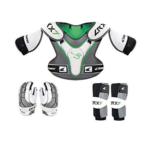 Champro Sports Lrx7 Lax/Lacrosse Starter Box Set, Grey, Large