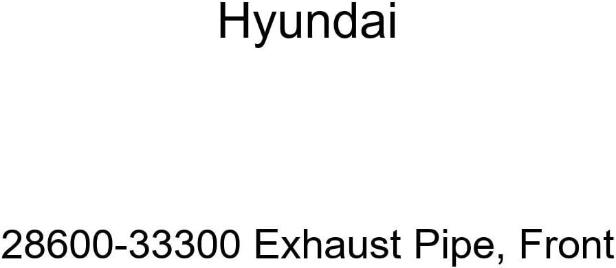 Front Genuine Hyundai 28600-33300 Exhaust Pipe