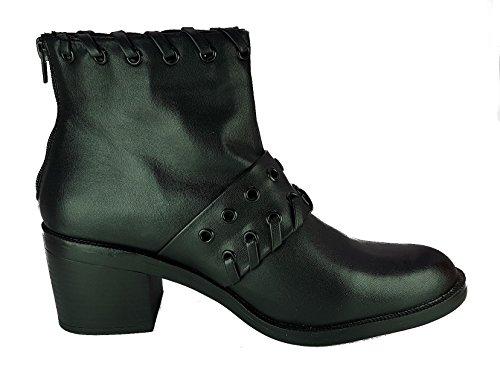 Ragazza Anfibi Heel Camperos New Donna Confortevole Stivali Fashion Da Stub Black Scarpe pBOqEBw4