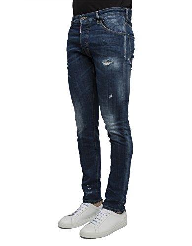 Dsquared2 Homme S74LB0136S30342470 Bleu Coton Jeans