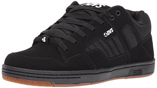Dvs Schuhe Herren Herren Enduro 125 Skate Schuh Schwarzer Gum Nubuk