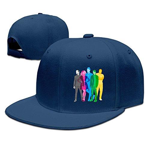 LALayton Unisex Pentatonix PTX Vol Unisex Cotton Visor Topless Sun Hat - Navy