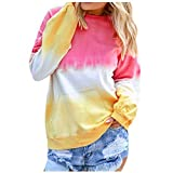 Women's Casual Contrast Color Shirt Long Sleeve
