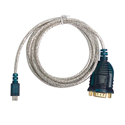 Mirco USB to Serial Cable, Asunflower RS232 DB9  Serial Port