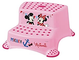 Disney Baby Minnie Mouse Double Step Stool with Non Slip Feet  sc 1 st  Amazon UK & Disney Baby Minnie Mouse Double Step Stool with Non Slip Feet ... islam-shia.org