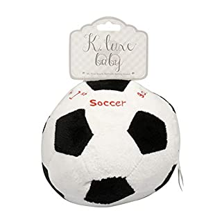DollarDays Kelly Baby - My First Soccer Ball Chime Plush