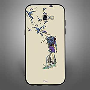 Samsung Galaxy A5 2017 Birds carrying letters