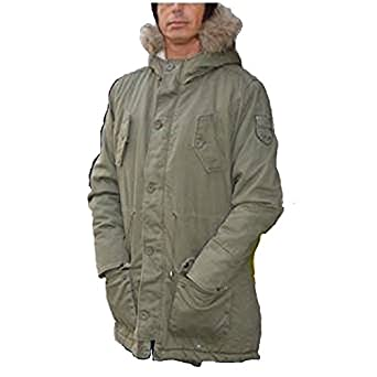 LAMBRETTA INNOCENTI MENS FISHTAIL PARKA HI FASHION: Amazon.co.uk ...