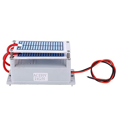 Air Fresher, Integrated Ozone Generator Household Air Fresher Odor Eliminating Purifier Ozonizer 24g for Dryers Dishwashers Refrigerators(110V)