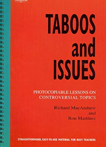 Taboos and Issues Photocopiable ELT Instant Lessons Series ...