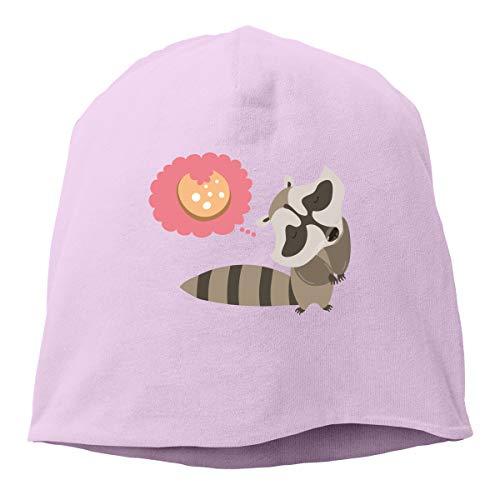 Kla Ju Woman Skull Cap Beanie Funny Biscuits Headwear Knit Hat Warm Hip-hop Hat ()