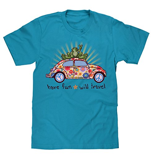 peace-frogs-vw-bug-short-sleeve-licensed-t-shirt-small