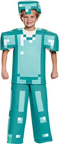 Armor Prestige Minecraft Costume, Multicolor, Medium (7-8)