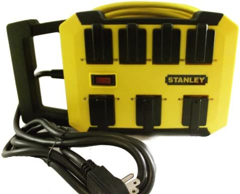 Stanley Outrigger Wrap n Go Power Station 25ft. Outdoor Cord