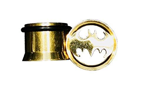 batman 2 gauge ear plugs - 7