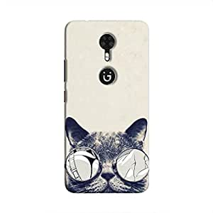 Cover It Up Cool Cat Hard Case For Gionee A1 - Multi Color