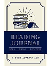 Reading Journal: A Book Lover's Log   Record and Review Up To 100 Books You Have Read   A Reading Tracker For Bookworms & Bibliophiles