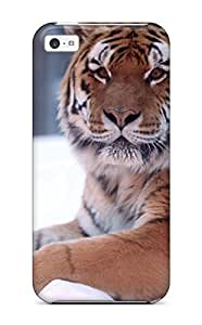 LJF phone case Awesome LBJgVFD4749wnCKE DPatrick Defender Tpu Hard Case Cover For iphone 6 plus 5.5 inch- Tiger Snow Wide
