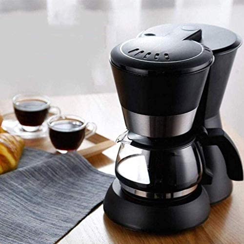 Qinmo Iced cafetière, Machine à café Unique Servir Coupe Brewer Café Maker for Le café moulu, Design Compact instantané Goutte à Goutte Thermique Machine à café