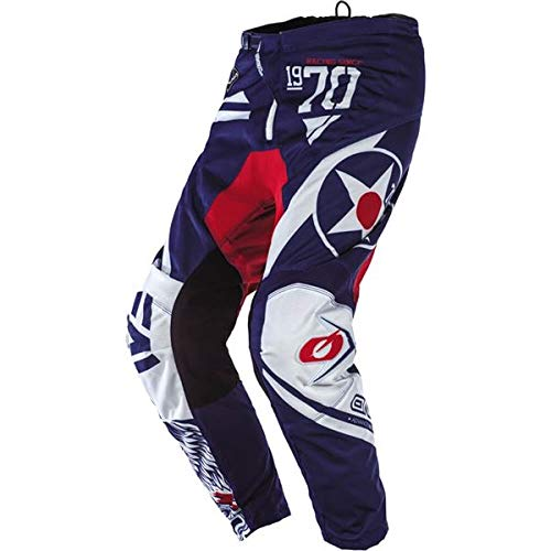 O'Neal Racing Element Wild Boy's Off-Road Motorcycle Pants - Black/White/Size 8/10