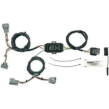 41cFJhMEbgL._SL500_AC_SS350_ amazon com genuine toyota accessories 08921 04960 towing wiring toyota tacoma oem trailer wiring harness at soozxer.org
