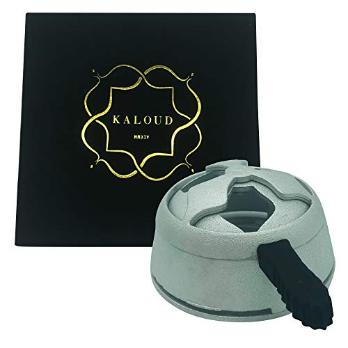 Kaloud Lotus Hookah Heat Management System, Smoother, Tastier, Cleaner, Longer Lasting Sessions Fits with Almost All Hookah Bowls