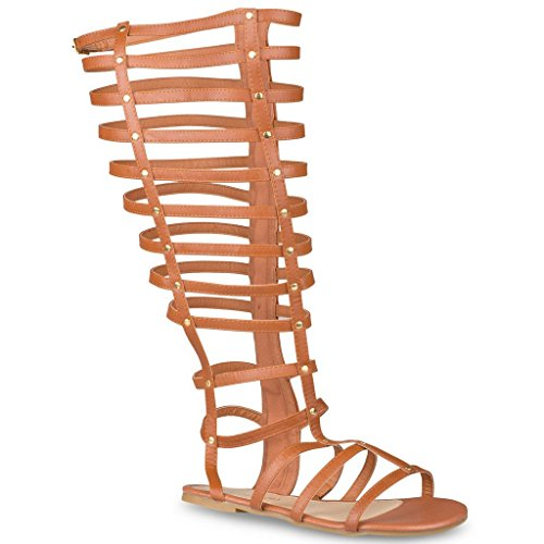 d6482c43c15 Best Value · Twisted Womens Leather Gladiator Sandals product image