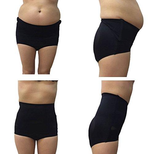 Luckycivia Women's Shapewear,High Waist Tummy Control Bodysuit Seamless Butt Lifter Briefs Body Shaper Panties for Women