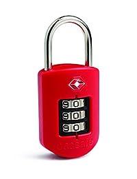 Pacsafe Prosafe 1000 TSA Accepted Combination Lock, Red