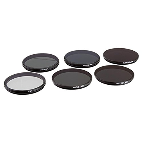 PolarPro Filter 6-Pack (CP, ND8/PL, ND16/PL, ND8, ND16, ND32) for DJI Inspire 2 X7 / X5S / X5