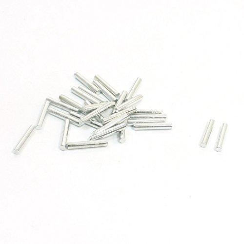 30pcs 12mm x 2mm ronde droite en acier inoxydable Bar Rod pour RC Toy Car DealMux