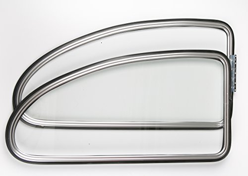 Classic Beetle (MVDub Rear Quarter Popout Windows Assembly Complete Kit for Classic Volkswagen Beetle 1950-1964)
