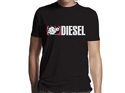 AFE Filters 40-30223 aFe Diesel Tee Shirt Mens aFe Diesel Logo XLarge Black aFe Diesel Tee Shirt ()