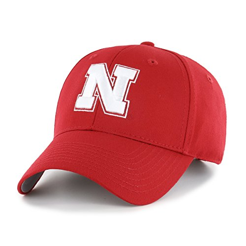 OTS NCAA Nebraska Cornhuskers All-Star MVP Adjustable Hat, Red, One Size