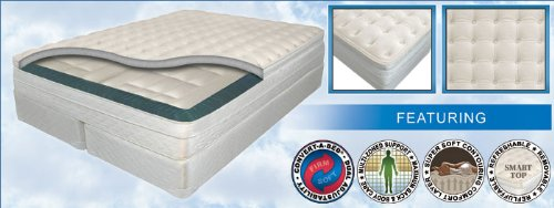 11'' CALIFORNIA KING InnoMax® Luxury Support™ Mystique Adjustable Air Bed w/Dual 50 Number Remote Controls by Luxury Support