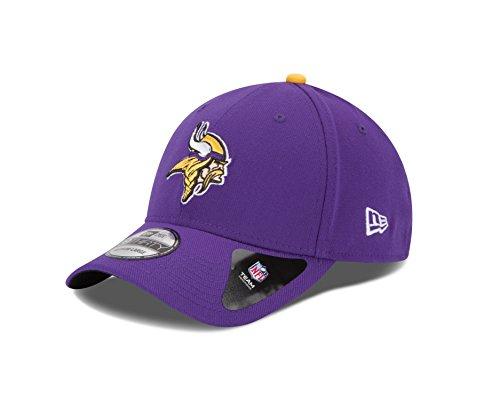 NFL Minnesota Vikings Team Classic 39THIRTY Stretch Fit Cap, Large/X-Large, Purple