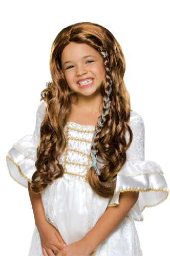 Rubie's Glamorous Princess Child's Costume Wig, (Childrens Dress Up Wigs)