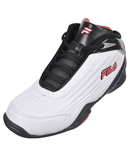Sneakers Fila black White Mid 12 Ragazzo Slam red nbsp;c